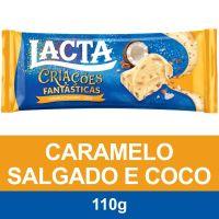 LACTA COCO COM CARAMELO  100G