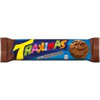 BISCOITO TRAKINAS CHOCOLATE 126G