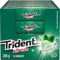 TRIDENT XFRESH CRISTAL MINT 18G