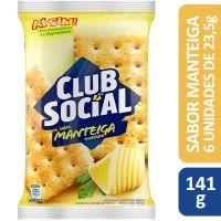 BISCOITO CLUB SOCIAL MANTEIGA TEMPERADA 23,5G