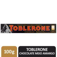 TOBLERONE MEIO AMARGO 100G
