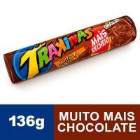 BISCOITO TRAKINAS MAIS CHOCOLATE 136G
