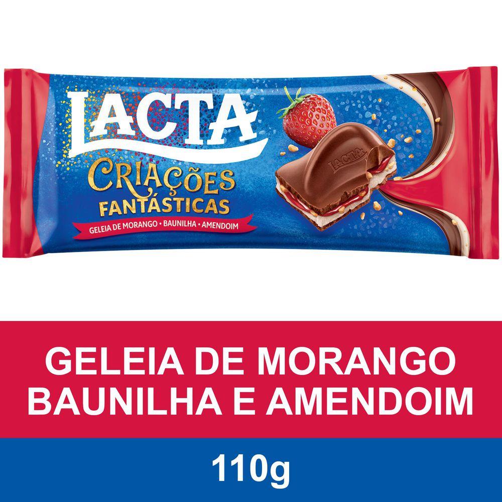 LACTA GELEIA MORANGO 100G