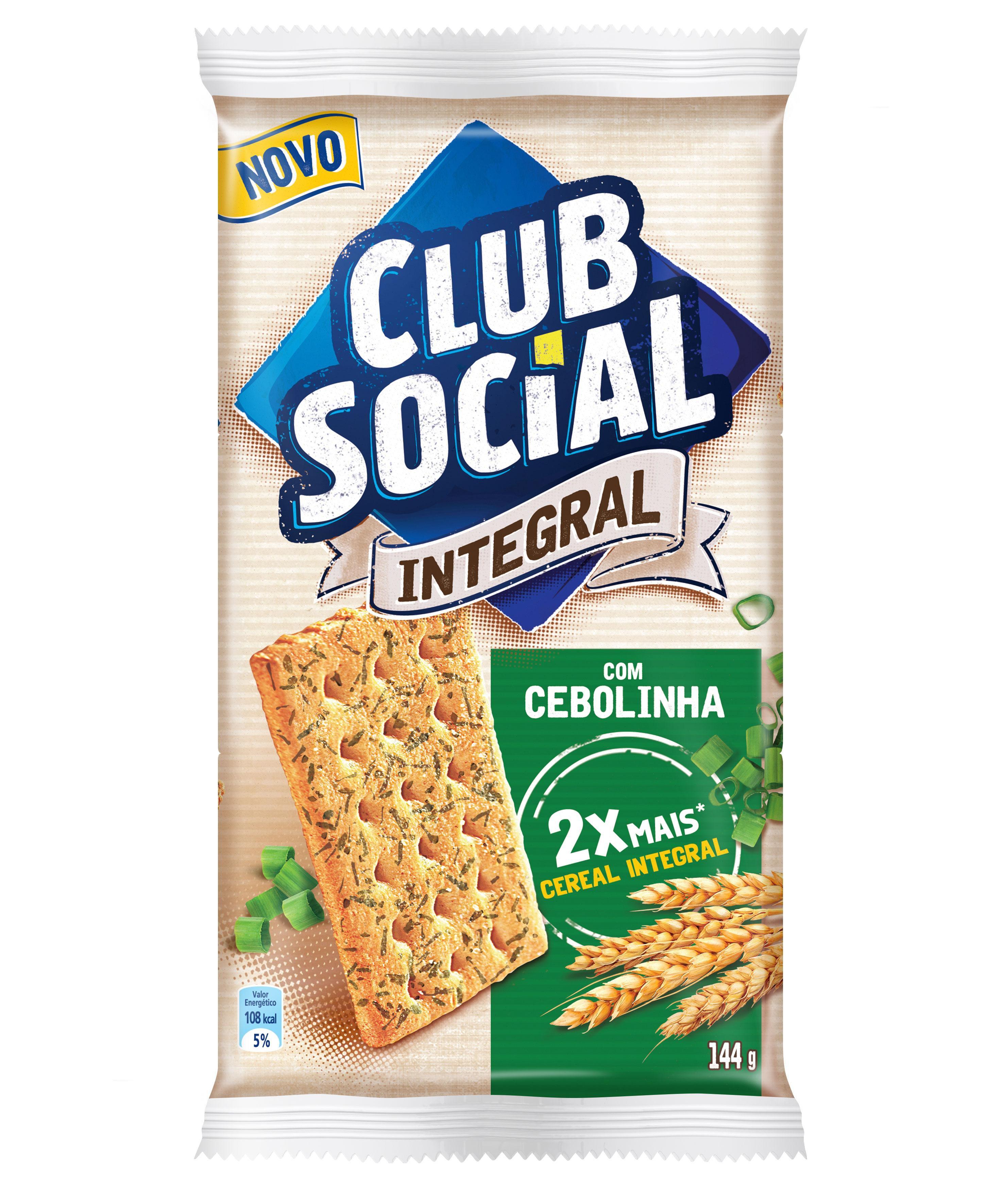 BISCOITO CLUB SOCIAL INTEGRAL CEBOLINHA 24G